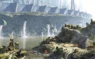 обои города - город будущего