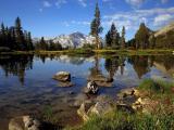 обои для рабочего стола природа - лесное озеро
