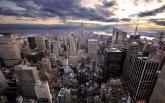 Фотообои - взгляд на город сверху